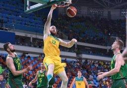 استرالیا در مرحله نیمه نهایی بسکتبال