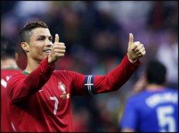 درخشش رونالدو در شب شکست هلند و برد فرانسه