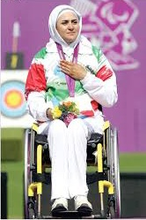 حضور زهرا نعمتی در اردوی تیم ملی تیر اندازی با کمان