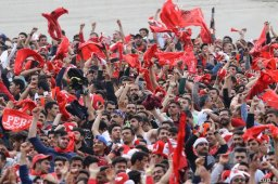 هواداران پرسپولیس در صدر غرب آسیا
