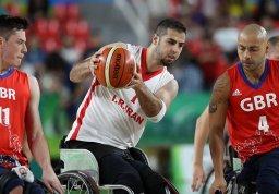 شکست تیم ملی بسکتبال با ویلچر مقابل انگلیس