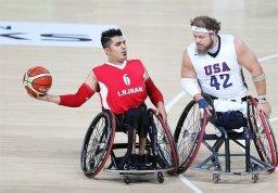 شکست تیم ملی بسکتبال با ویلچر مقابل آمریکا