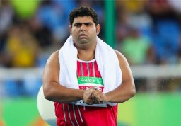 کائیدی ششمین برنز کاروان پارالمپیک ایران