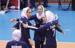 ششمی زنان والیبالیست در جام کنفدراسیون آسیا