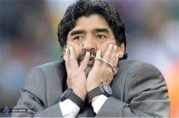 مارادونا از سمت سفیر ورزشی امارات کنار رفت