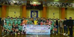 برتری پرگل حامیان کودکان سرطانی همدان مقابل منتخب گزارشگران و هنرمندان ایران