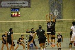 نتایج هفته سیزدهم لیگ دسته یک والیبال