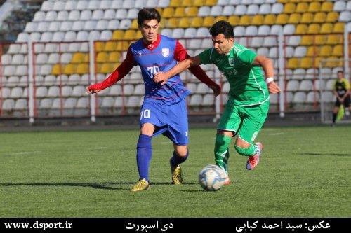 پیش بازی داماش گیلان - برق نوین شیراز