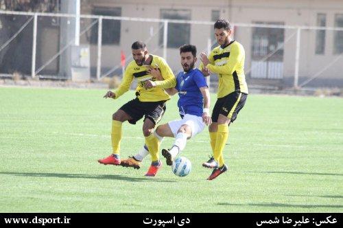 نتایج هفته بیست و سوم لیگ دسته اول فوتبال+جدول