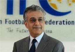 پیام شیخ سلمان به فدراسیون فوتبال ایران