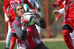 پیروزی دختران فوتبال ایران برابر قزاقستان