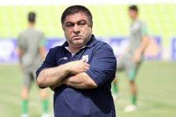 غلامحسین پیروانی:از بازیکنانم راضی هستم