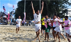 تیم ملی فوتبال ساحلی قهرمان آسیا شد