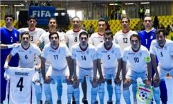 پیروزی تیم ملی فوتسال ایران مقابل عراق
