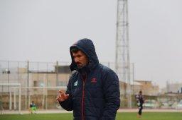 داریوش یزدی:به عنوان تیم اول به لیگ یک صعود می کنیم