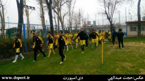 تمرینات پارس جنوبی جم در تهران استارت خورد+عکس