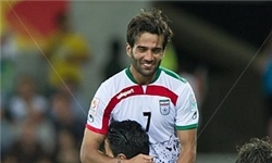 کاپیتان ایران، بهترین بازیکن زمین شد