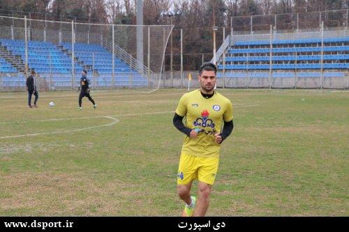 فرشاد محمدی مهر بازیکن پارس جنوبی جم
