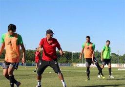 عکس: تمرین تیم ملی در اردوی اتریش