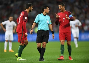 ویدئو: عملکرد فغانی در بازی پرتغال - شیلی