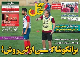 عناوین روزنامه های ورزشی پنجشنبه96/04/15