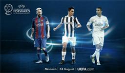 معرفی نامزدهای برترین های فصل لیگ قهرمانان اروپا