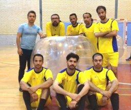 آغاز رقابت های فوتبال حبابی قهرمانی کشور در همدان