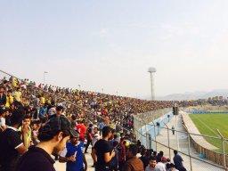 حاشیه دیدار پارس جنوبی- استقلال