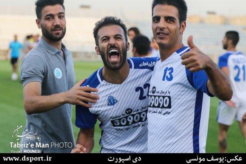 تصاویر:دیدار ماشین سازی تبریز-آلومینیوم اراک(2)