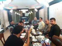 جلسه هماهنگی پیش از دیدار دو تیم ایرانجوان بوشهر - خونه به خونه بابل برگزار گردید