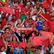 ۴۰ هزار هوادار مراکش در روسیه