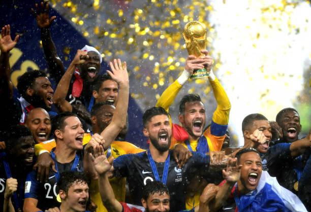 عکس: جشن قهرمانی تیم ملی فرانسه در جام جهانی 2018 روسیه