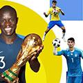 بیرانوند بالاتر از مودریچ و امباپه در جام جهانی