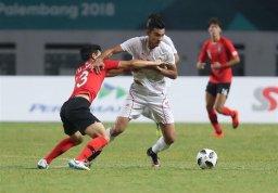 حذف تیم فوتبال امید با شکست مقابل کرهجنوبی